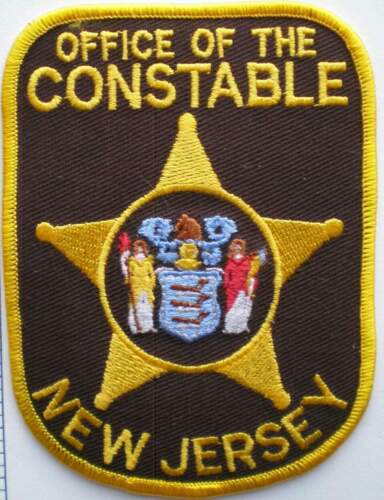 """Patch New Jersey Office of the Constable 3"""" X 2"""" 3/8"""