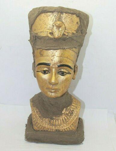 RARE ANCIENT EGYPTIAN ANTIQUE Nefertiti Head Statue 1865-1653 BC