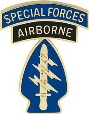 Airborne Emblem (ARMY SPECIAL FORCES AIRBORNE EMBLEM MILITARY HAT PIN)