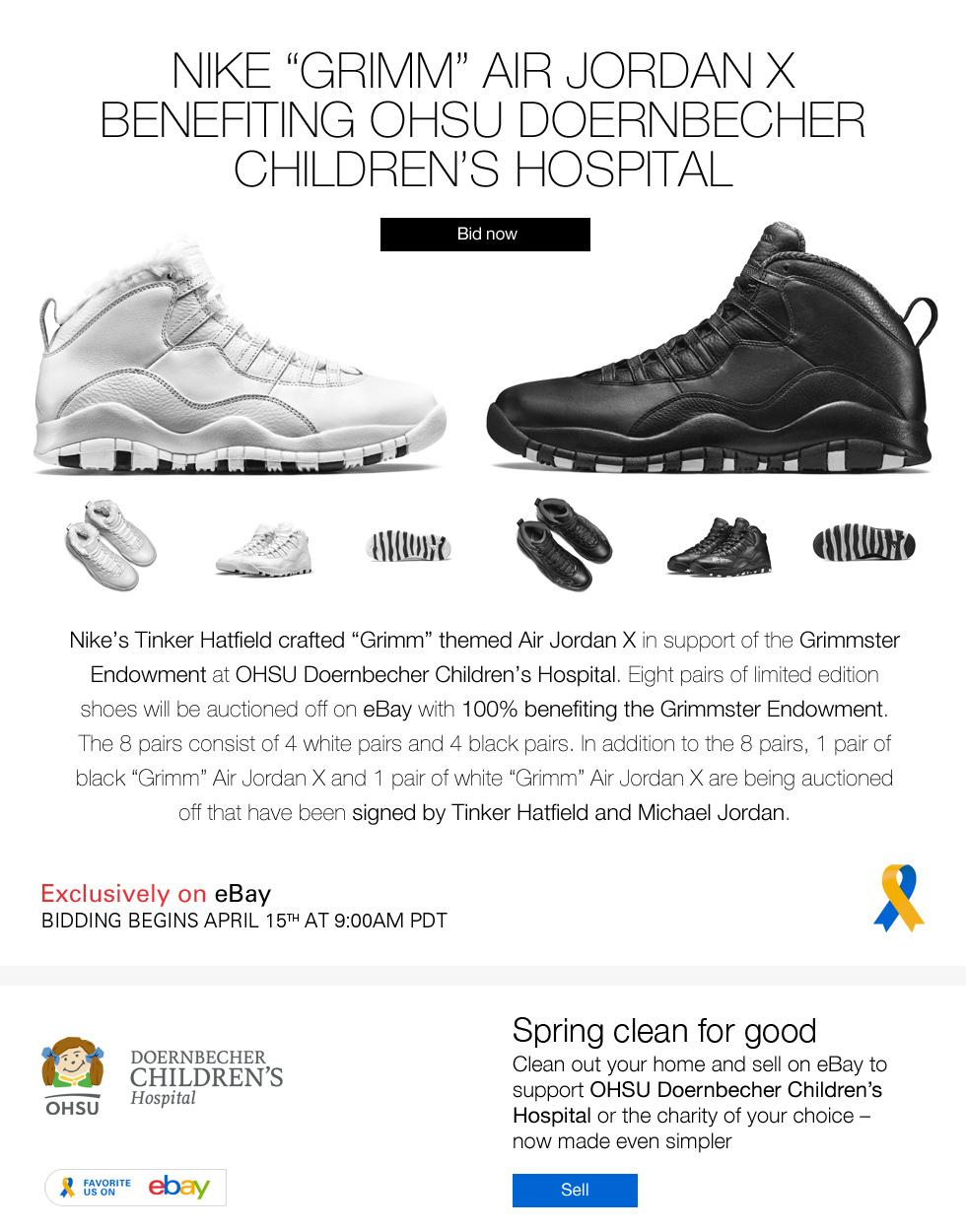 "0630238fdcf54d Nike ""Grimm"" Air Jordan X"