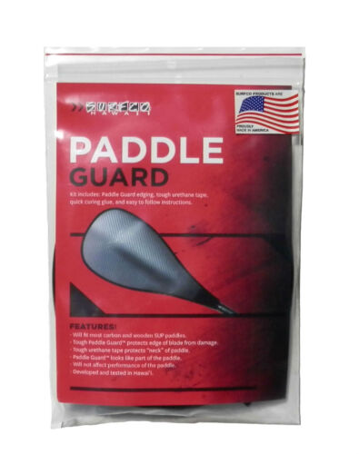 SUP PADDLE GUARD, Paddle Edge Protector Stand Up Paddle, Rubber Edge Guard, NEW