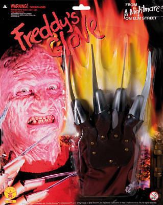 Hand Handschuh Freddy Krüger Nightmare on Elm Street Horror Karneval Fasching ()