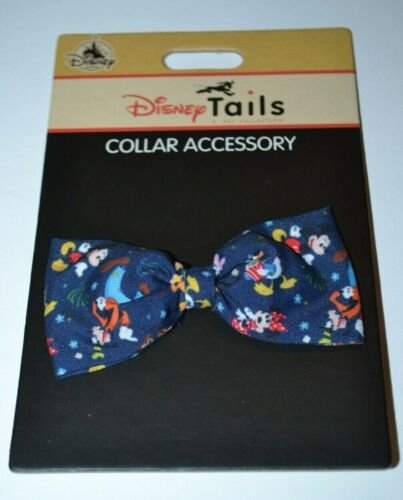 Disney Tails Pet Collection Mickey & The Gang Bow Tie Dog Collar Accessory