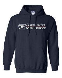 USPS-POSTAL-HOODIE-HOODED-SWEATSHIRT-WITH-POSTAL-LOGO-ON-CHEST-All-Sizes-S-XXXL
