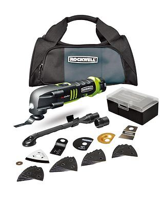 Rockwell 12 V Lithium Cordless Sonicrafter 2 Batteries, Charger & Carrying Bag on Rummage
