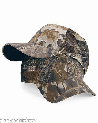 Outdoor Cap Mens Womens Adjustable Size Cool Mesh Camo Hat Mossy Oak Classic