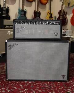 Fender Band-Master VM 40W Valve Head   VM212 Speaker Cabinet Mount Lawley Stirling Area Preview