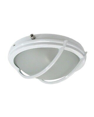 White Outdoor Or Indoor Fluorescent Ceiling Fan Light Kit
