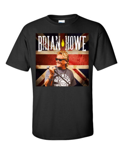 BRIAN HOWE former lead singer of BAD COMPANY New T-shirt full color front print!