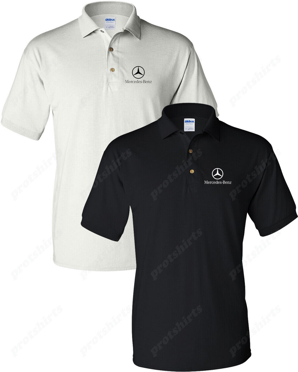 Mercedes Benz Logo Shirt Mercedes Benz Men's Polo Shirt
