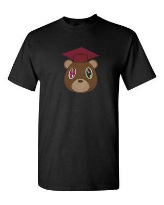 Kanye West Graduation Bear Hip Hop Album Mens Gildan T-Shirt Tee New ()