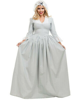 Adult Womens Southern Belle 18th Century Pilgrim First Settlers Costume](Adult Southern Belle Costume)