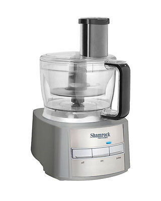 Shamrock Food Processor 12 Cup  950 Watt with 10 Piece Accessory Set