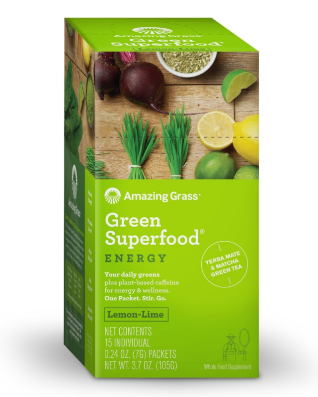 energy green superfood organic powder with wheat