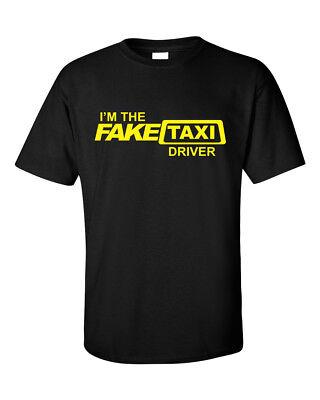 Fake Taxi Milf Adults Funny Short Sleeve Mens T Shirt