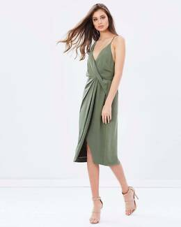 Keepsake The Label Olive Without You Dress - XS, S & M