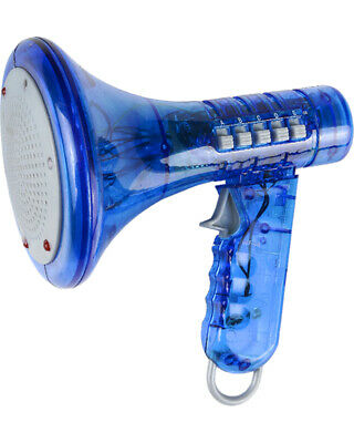 Blue Megaphone Voice Changer Speech Effect Modifier Toy](Voice Modifiers)