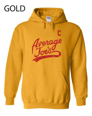 079 Average Joes Hoodie Sweatshirt funny dodgeball uniform costume halloween new - Average Joe's Halloween