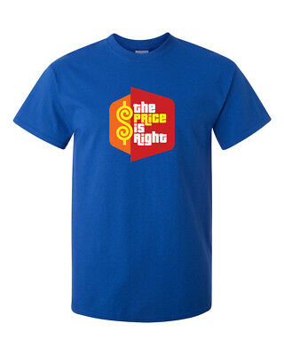 The Price is Right T-Shirt CLASSIC Funny Party Retro 80s Game Show Tee New S-5XL - 80s Party Games