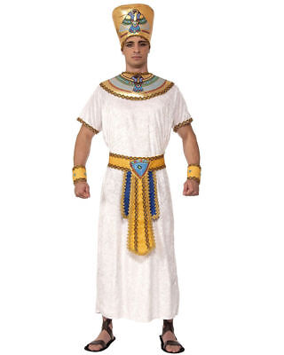 BRAND NEW Adults Mens Egyptian Pharaoh King Cleopatra Costume Large 42-44](Mens Egyptian Costumes)