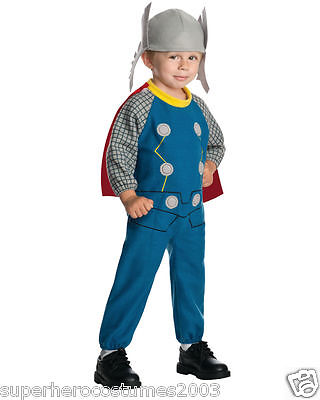 einkinder Fleece Kostüm Marvel Comics Größe 2T-4T Neu 620013 (Thor Kostüm Baby)