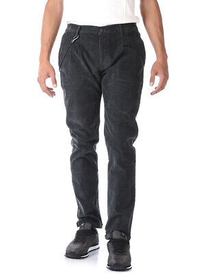 Daniele Alessandrini Jeans ITALY Man Grey PJ5387L5203706 10 Sz. 46 PUT OFFER