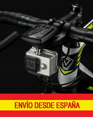 iGPSPORT S81 Soporte Adaptador Montaje de Cámara Foco Luz Frontal compatible S80