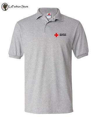 American Red Cross Organization Polo Shirt Size S 5Xl 50 50