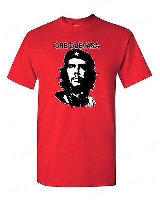 Che Guevara T Shirt Retro Cuban Revolution Leader Political Tee