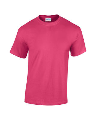 Купить Gildan - Gildan Mens Plain T Shirts Solid Cotton Short Sleeve Blank Tee Top Shirts S-3XL