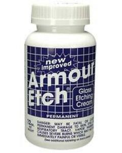 Armour Etch Glass Etching Cream - 10 oz  NEW