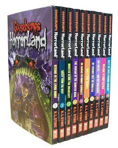 Goosebumps HorrorLand Series 10 Set Collection Pack Children Books R L STINE NEW
