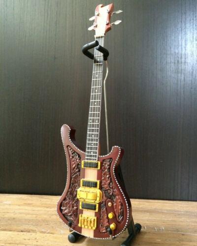 Axe Heaven Lemmy Motorhead Signature Miniature Collectible Bass Guitar