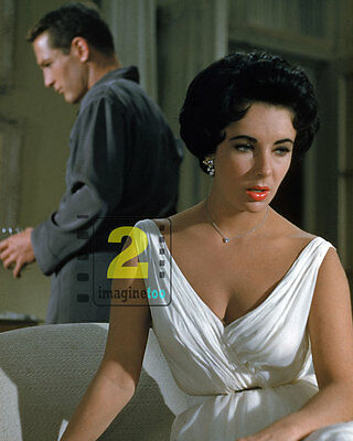 "Elizabeth Taylor - Cat on a Hot Tin Roof 8""x 10"" Color PHOTO REPRINT"