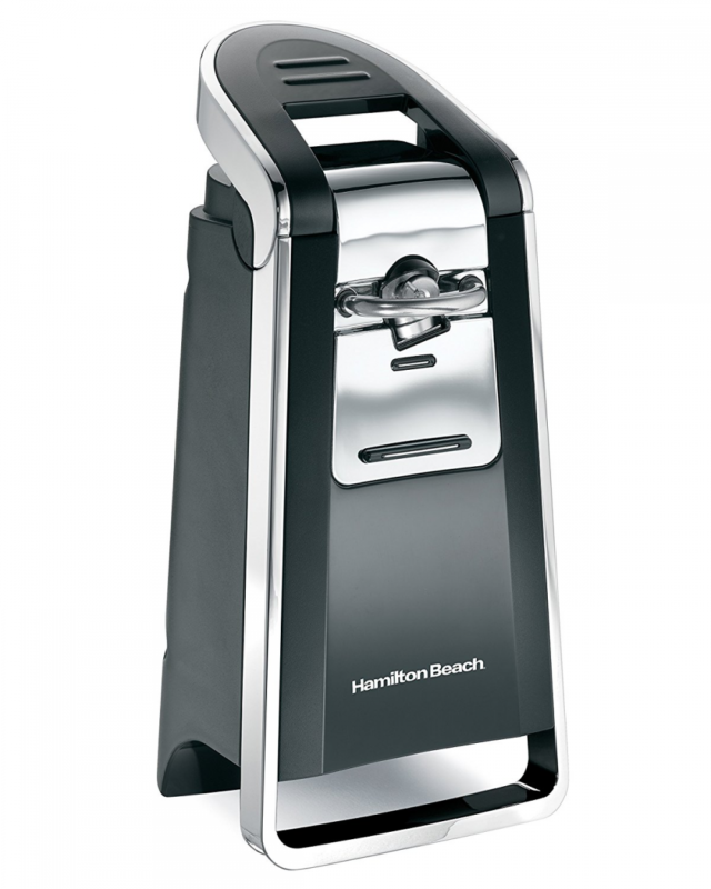 Hamilton Beach 76607 Smooth Touch Can Opener, Black & Chrome 3