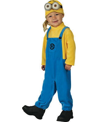 Gru Minion Costume (Toddlers Despicable Me 3 Gru Minion Dave Costume X-Small)