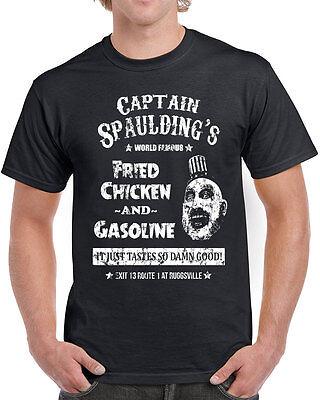 560 Captain Spaulding mens T-shirt scary movie devils corpses rejects 1000 - Captain Spaulding Shirt