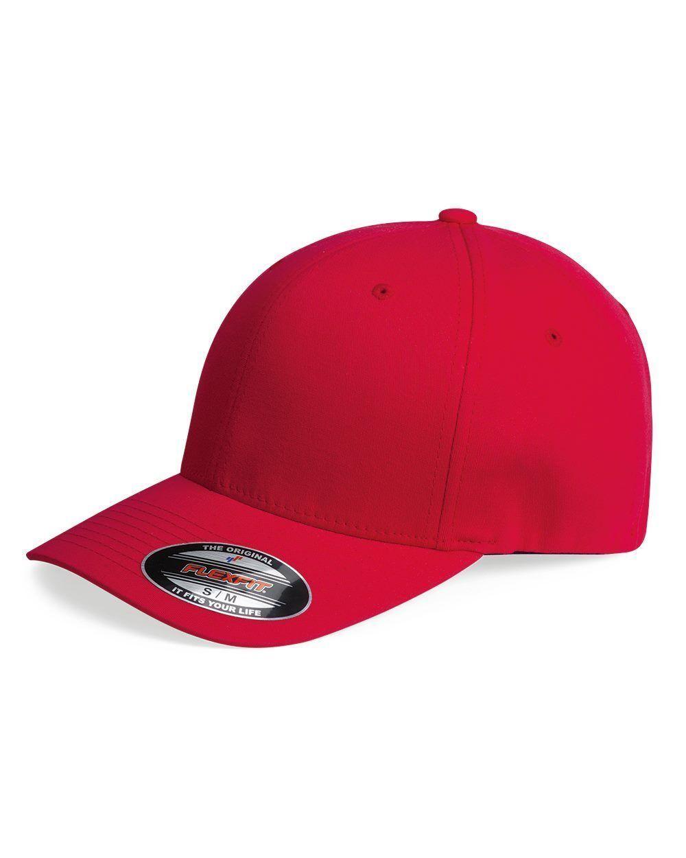 5237155bb6b Flexfit V-Flexfit Cotton Twill Fitted Baseball Blank Plain Hat Cap 5001 S M  L XL
