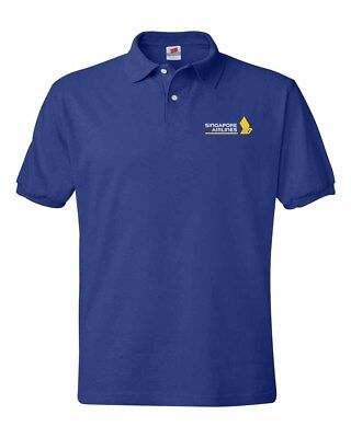 Singapore Airlines  Logo Polo Shirts S 5Xl Sizes