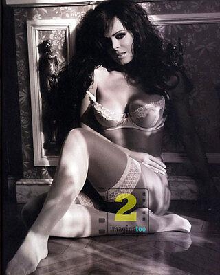 "Maribel Guardia Costa-Rican actress 8""x 10"" Sexy B&W PHOTO REPRINT"