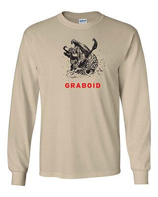 247 Graboid Long Sleeve Shirt 80s movie scary tremors funny horror halloween new