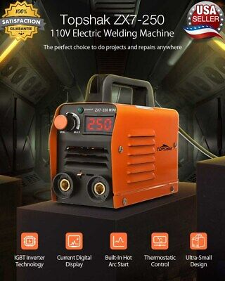Welding Machine Mini Inverter Arc Welder Mma Electric Igbt Stick 110v Portable