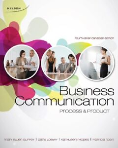 Business Communication Process & Product textbook