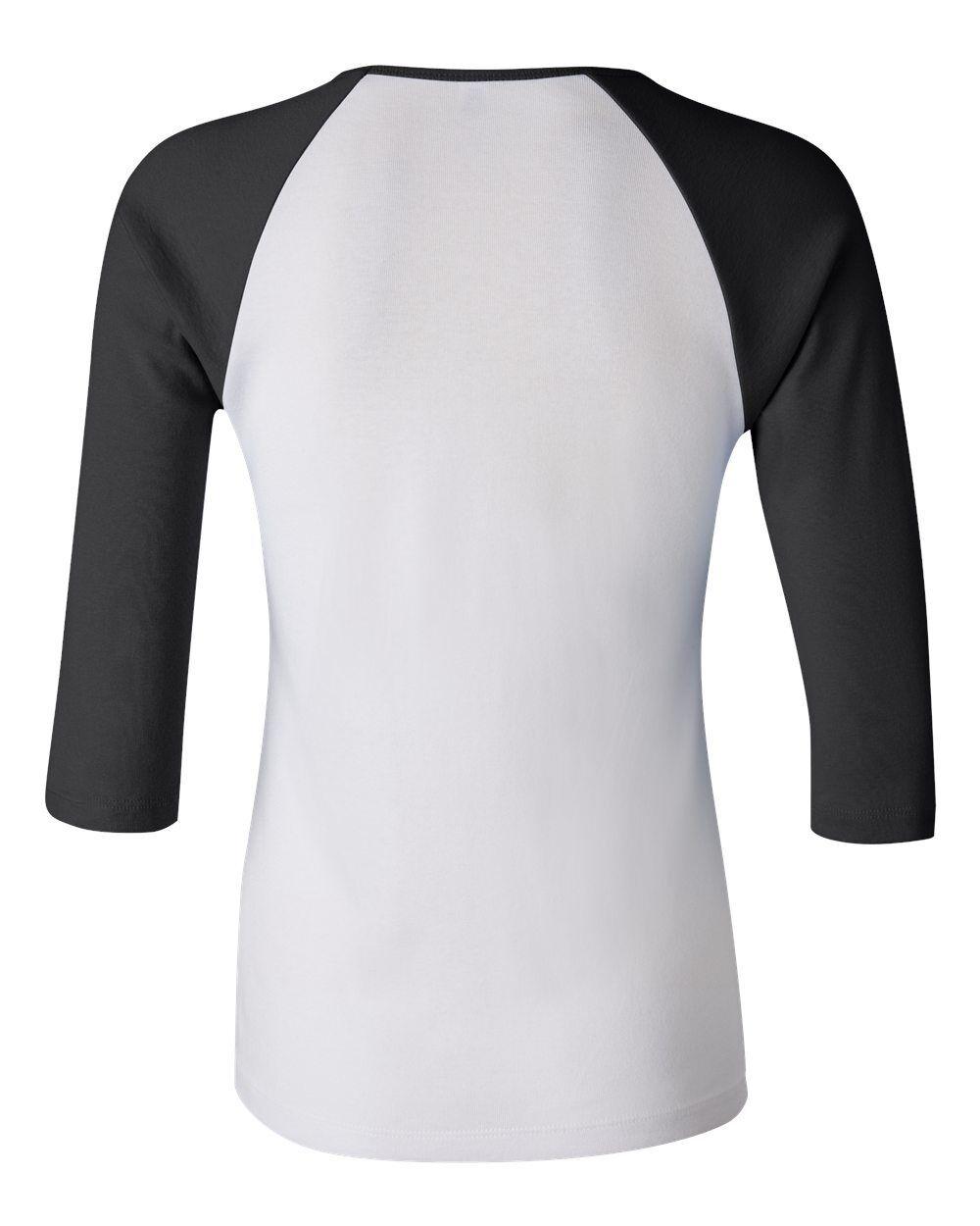 Bella 2000 Ladies Baseball Raglan 3/4 Sleeve T-Shirt Women TEE S M L XL 2XL SALE