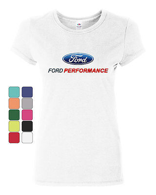 Mustang Cotton Shirt (Ford Performance Cotton T-Shirt Ford Mustang GT ST Racing )