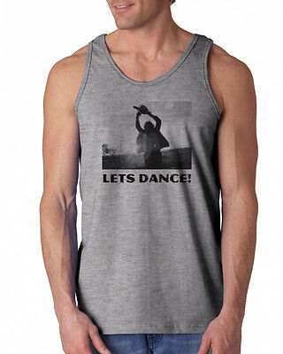 038 Lets Dance Tank Top chainsaw scary movie halloween horror gore 80s retro new