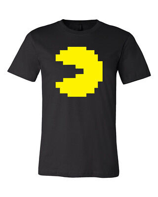 Pac Man and Ghost Costume Halloween Idea Unisex Soft T-Shirt Tee Brand New](Halloween T Shirts Ideas)