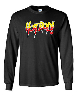 350 Hot Rod Long Sleeve shirt costume wrestling rowdy roddy piper halloween - Hot Rod Halloween
