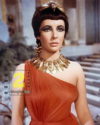 "Elizabeth Taylor - Cleopatra  8""x 10"" Color PHOTO REPRINT"