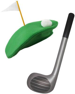 PUB GOLF HAT INFLATABLE CLUB 92CM HEN STAG BIRTHDAY PARTY FANCY DRESS - Pub Golf Kostüm